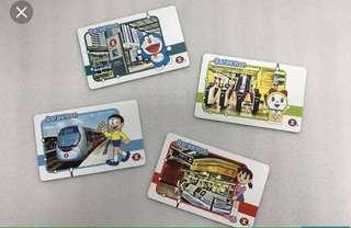 Doraemon 香港地鐵紀念卡