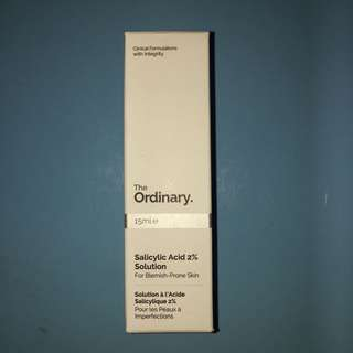 The Ordinary Salicylic Acid 2% Solution For Blemish - Prone Skin