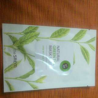The Saem Mask Sheet (Green Tea)