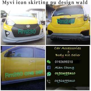 Body kit Myvi icon pu