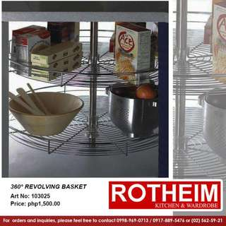 360° Revolving Basket
