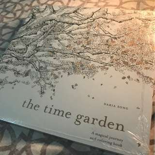 Time Garden Coloring Book for Adults