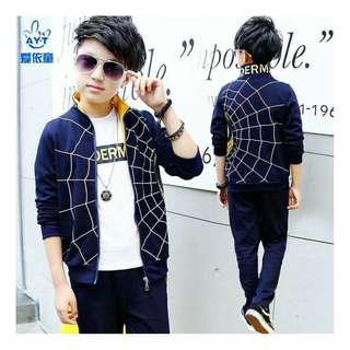 Spiderman Terno Jacket and Pants Blue 450