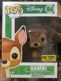 Disney Bambi Hot Topic *flocked* #94