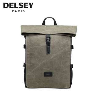 Authentic Delsey Frequent Backpack Laptop Computer Bag