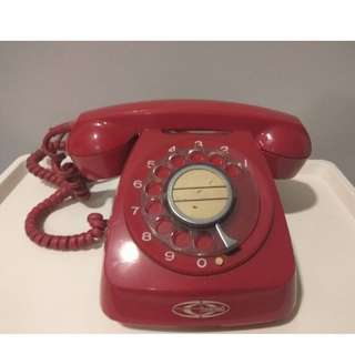 Rare! Vintage Classic Rotary Dial Phone