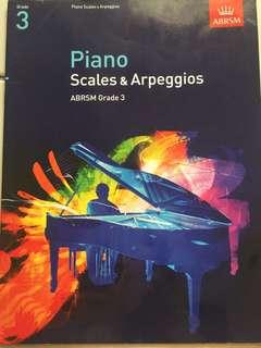 Grade 3 piano scales
