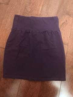 Purple talula pencil skirt