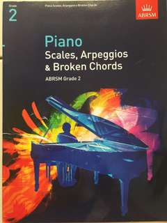 Grade 2 piano scales