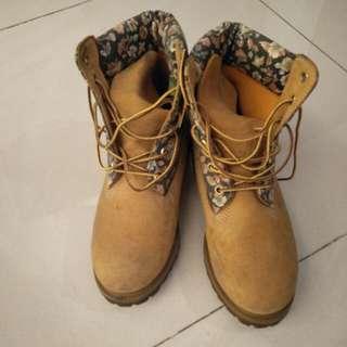 🚚 女版 timberland 黃靴 正品 保存良好 少穿399