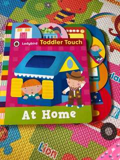 PL ladybird toddler touch at home