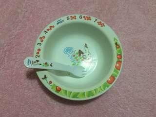Avent Feeding Plate with spork