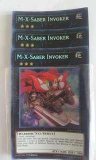 M-X-Saber Invoker