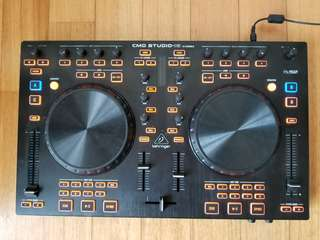 BEHRINGER CMD STUDIO 4a Deck DJ MIDI Controller with 4 Channel Audio Interface