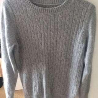 Cosy grey sweater