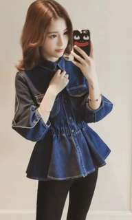 (Readystock)Denim top