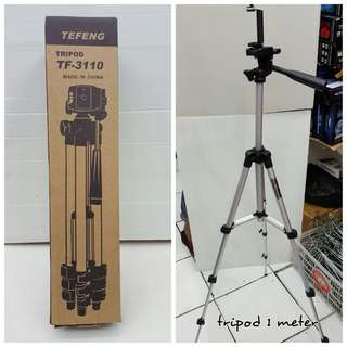 [READY STOCK] Foldable Tripod Camera Stand 3110 For Camera or Mobile Phone (No phone holder)