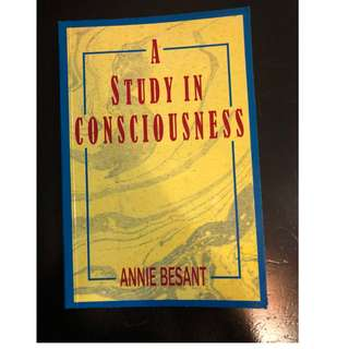 C277 BOOK - A STUDY IN CONSCIOUSNESS