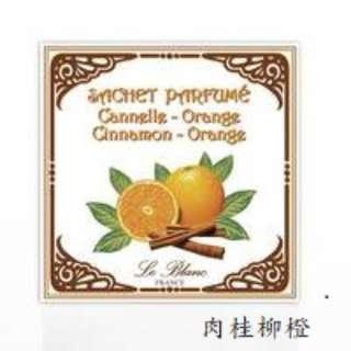 法國 LE BLANC 香氛包 肉桂柳橙/橙花/琥珀