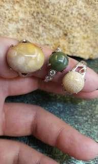 珊瑚玉-戒指組