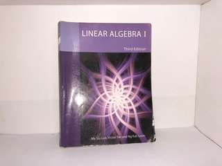 Linear Algebra 1