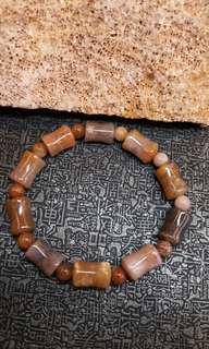 珊瑚玉-橄欖珠手串(小)