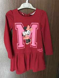 H&M Minnie dress size 4-6 yrs
