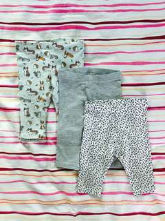 H&M leggings 4 to 6 months