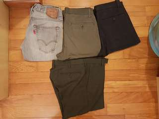 Assorted pants