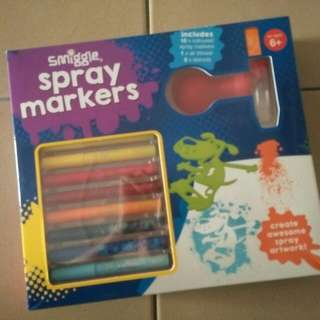 SMIGGLE SPRAY MARKERS