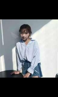 Korean ulzzang blouse