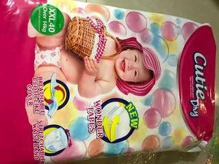 Disposable diaper XXL