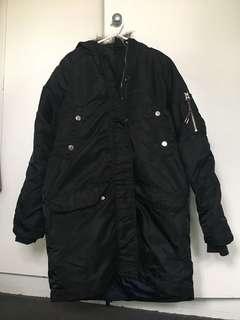 Long black 🧥 jacket