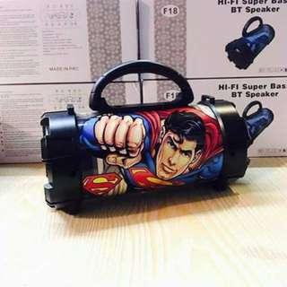 Superman F18 super bass BT speaker 599