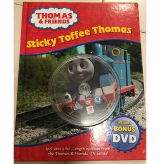 Thomas The Train hardcopy books with DVD