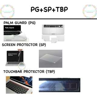 [PO] Macbook Screen Protector, Palm Guard, and Touchbar Protector