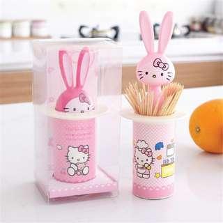 Hello Kitty Toothpick Box ( 凯蒂猫牙签筒)