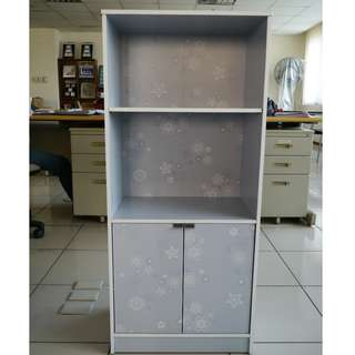Printed utility cabinet SM-0482 gray