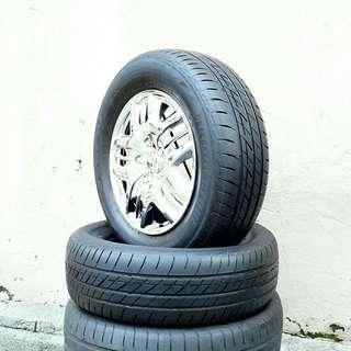 Used 205/65 R15(Sold) Bridgestone (2pcs) 🙋♂️