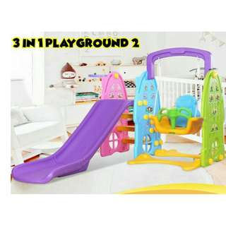 3 IN 1 WINDOW PLAYGROUND   READY STOK