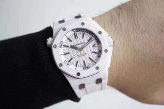 Audemars Piguet Royal Oak Offshore Diver White  (Swiss Engine 3120)