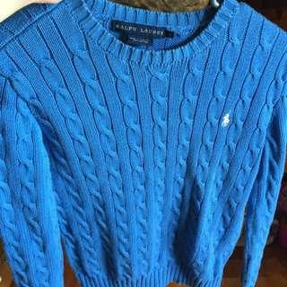 Polo Ralph Lauren cotton cable knit sweater