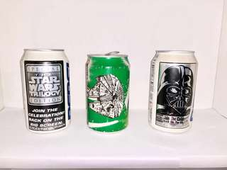 Star Wars Pepsi Can Collectibles