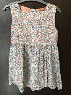 Girls floral dress for 5-6 years