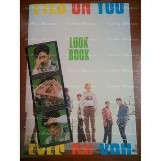 GOT7 Lookbook with Bambam sticker (Eyes on You)