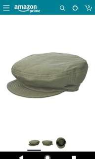 Brixton Men's Fiddler Greek Fisherman Hat Cap Olive.