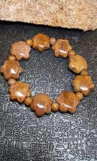 珊瑚玉-星星鳳尾手串