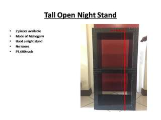 Tall Open Night Stand