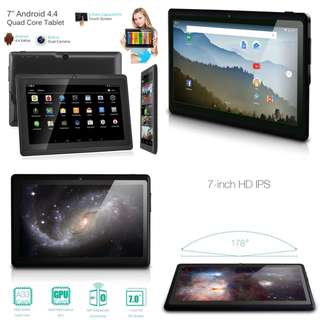7 Inch Android 4.4 4GB Quad Core Tablet PC Dual Camera Wifi Bluetooth Tablets