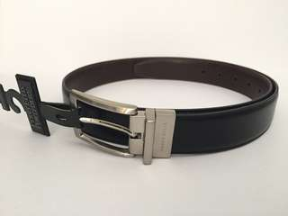 PERRY ELLIS PORTFOLIO MEN'S REVERSIBLE BELT SIZE 34 AUTHENTIC